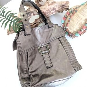 Kooba huge metallic tote bag shoulder bag